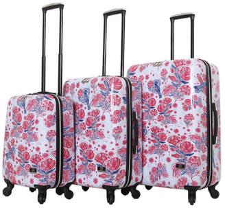 Fly London Halina Car Pintos 3 Piece Hard Side Spinner Luggage Set Hard Side Spinner Suitcase