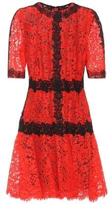 Dolce & Gabbana Panelled lace dress