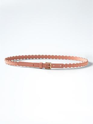 Skinny Scallop Trouser Belt $38 thestylecure.com