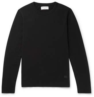 Officine Generale Loopback Cotton-Jersey Sweatshirt