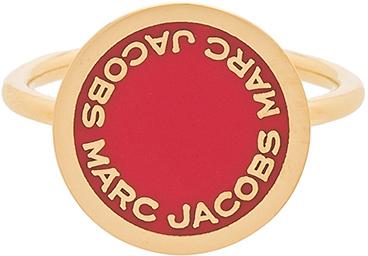 Marc JacobsMarc Jacobs Enamel Logo Disc Ring