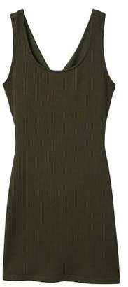 MANGO Tailored ribbed dress