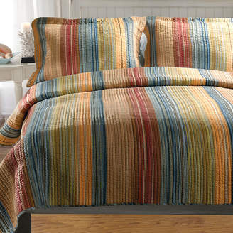 Greenland HOME FASHIONS Home Fashions Katy Stripe Quilt Set