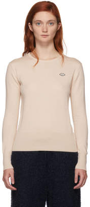 See by Chloe Pink Thin Crewneck Sweater