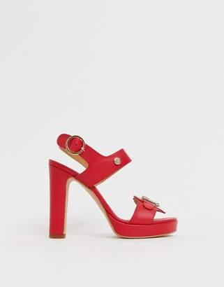 Love Moschino platform heeled sandals
