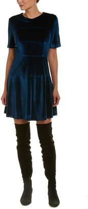Fate Velvet A-Line Dress