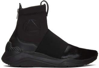 McQ Black Hikaru High-Top Sneakers