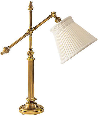 Visual Comfort & Co. Pimlico Table Lamp - Antiqued Brass