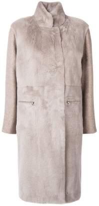 Blend of America Liska cashmere coat