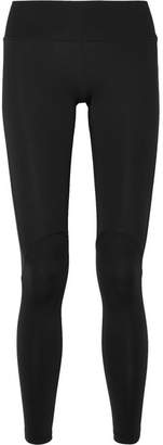 James Perse Panelled Stretch-jersey Leggings - Black