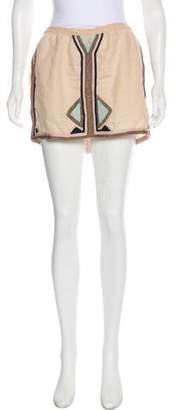 Calypso Linen Mini Skirt