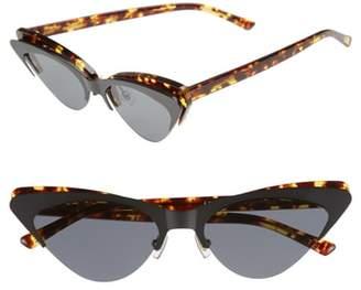 Cat Eye BONNIE CLYDE Layer Cake 55mm Sunglasses