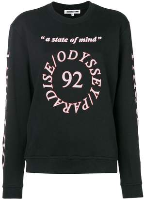McQ logo printed long sleeve T-shirt