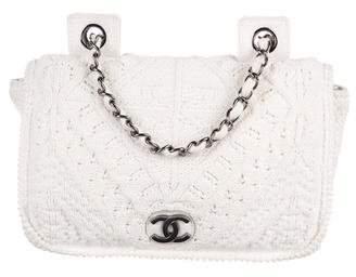 Chanel Crochet Flap Bag
