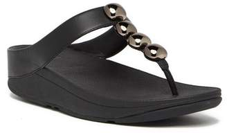 FitFlop Rola Wedge Thong Sandal