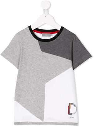 Christian Dior star colour block T-shirt