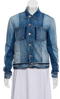 Frame Colorblock Denim Jacket