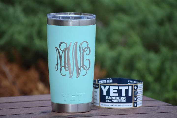 Etsy AUTHENTIC Engraved Yeti Rambler - Tumblers - Personalized Yeti - Yeti Gift - Laser Engraved Yeti - Y
