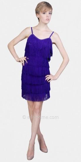 eDressMe Purple Flapper Dresses