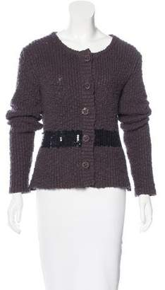 Sonia Rykiel Sonia by Embellished Button-Up Cardigan