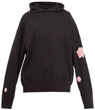 Y-3 Y 3 X James Harden Printed Hooded Cotton Sweatshirt - Mens - Black