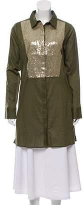 Figue Embellished Long Sleeve Tunic