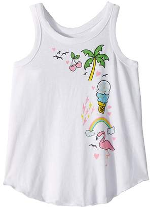Icons Chaser Kids Vintage Jersey Vacation Tank Top Girl's Sleeveless