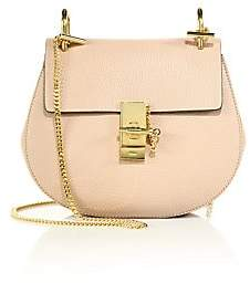 Chloé Women's Small Drew Leather Saddle Bag