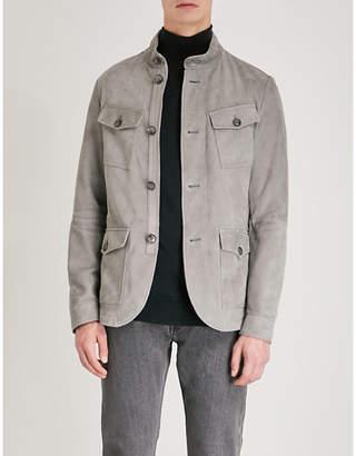 Michael Kors Longline suede jacket