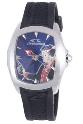 Chronotech Men's CT.7076M/03 Blue Dial watch.