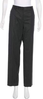 Giorgio Armani Mid-Rise Wool Pants