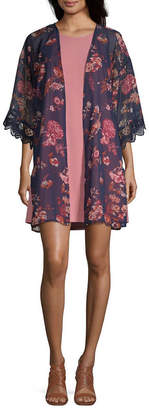 WALLFLOWER Wallflower Sleeveless Dress Set-Juniors