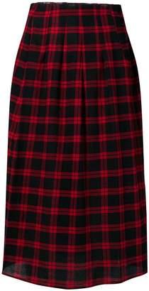 Bellerose tartan pleated skirt