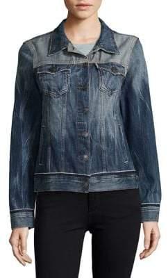 True Religion Long Sleeve Denim Jacket