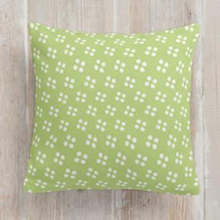 Playful Pinwheel Self-Launch Square Pillows