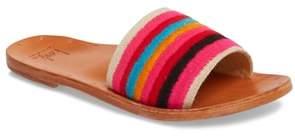 Beek Lovebird Embroidered Slide Sandal