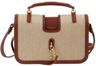 Saint Laurent Charlotte Messenger leather crossbody bag