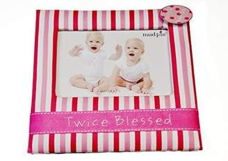 Mud Pie Twice Blessed Twill Frame by