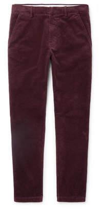 NN07 Benjamin Slim-Fit Stretch-Cotton Corduroy Trousers