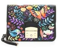 Furla Mini Floral Printed Clutch Bag
