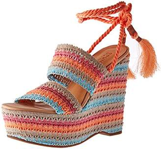 Schutz Women's Bendy Espadrille Wedge Sandal