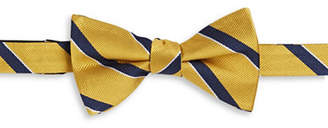 Tommy Hilfiger Striped Silk Bowtie