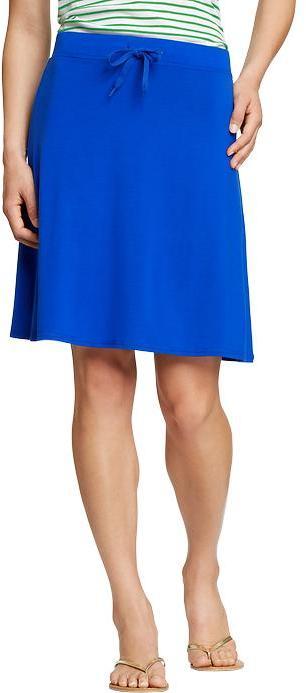 Old Navy Women's Drawstring Jersey-Midi Skirts