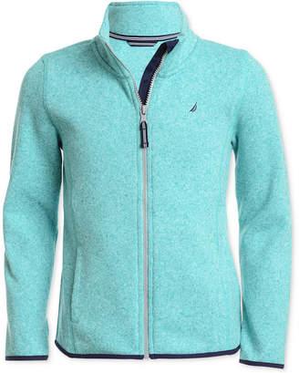 Nautica (ノーティカ) - Nautica Big Girls Zip-Up Sweater