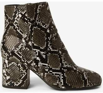 Dorothy Perkins Womens Wide Fit Multi Colour 'Aubree' Heeled Boots