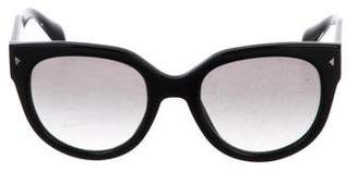 Prada Tinted Oversize Sunglasses