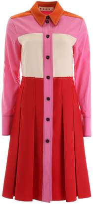 Marni Multicolor Shirt Dress