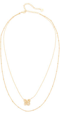 Jules Smith Curly Knot Neclace $65 thestylecure.com