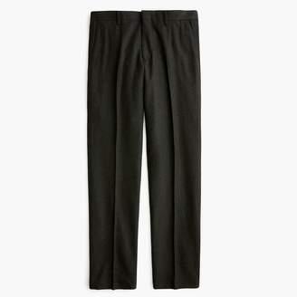 J.Crew Ludlow Slim-fit suit pant in Italian herringbone flannel wool blend