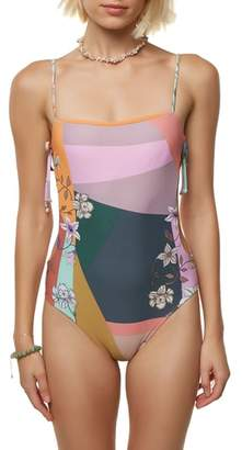 O'Neill Cindy Side Cutout One-Piece Swimsuit